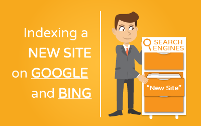 How to Index a new site on Google and Bing