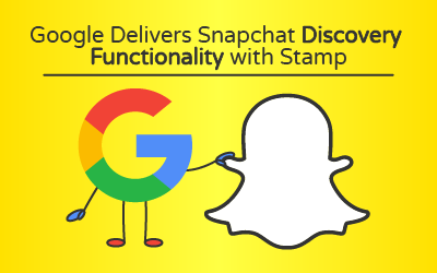 Google Delivers Snapchat Discovery Functionality with Stamp