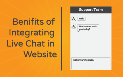 5 Benefits of Integrating Live Chat on Your Website